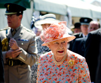 HRH the Queen Visit to the New Forest Show 2012